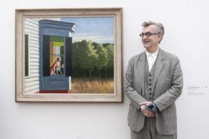 Wim Wenders entra nei quadri di Edward Hopper