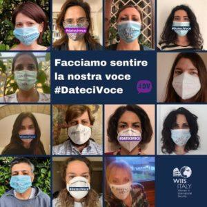 Flashmob#Datecivoce, migliaia di selfie per parità di genere