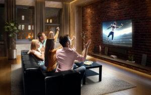 Altro che relax, la tv ipertecnologica è 'quasi' uno sport