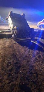 Madre muore nell'auto che si ribalta, grave figlio 5 anni