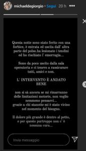 Temptation Island, Michael De Giorgio accoltellato: 'Ho rischiato l'emorragia'