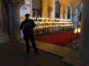 'Mission Impossible' ciak in notturna a Venezia