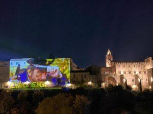 Proietti:Viterbo omaggia 'Rocca' con proiezione maxifoto