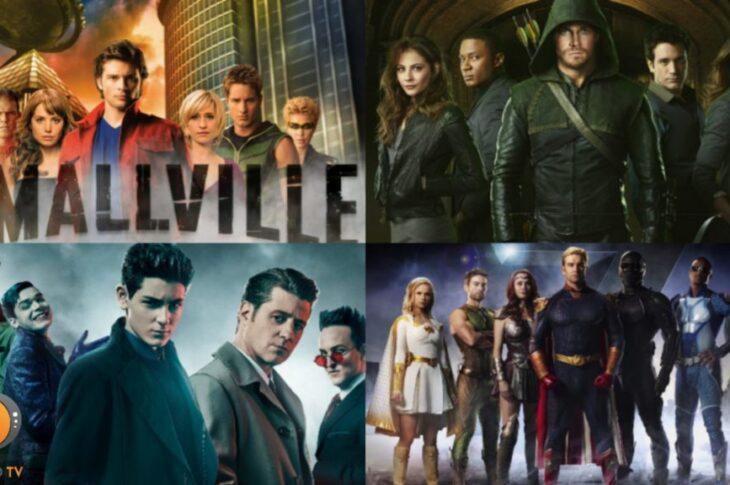 Le 10 Serie Tv sui Supereroi più belle