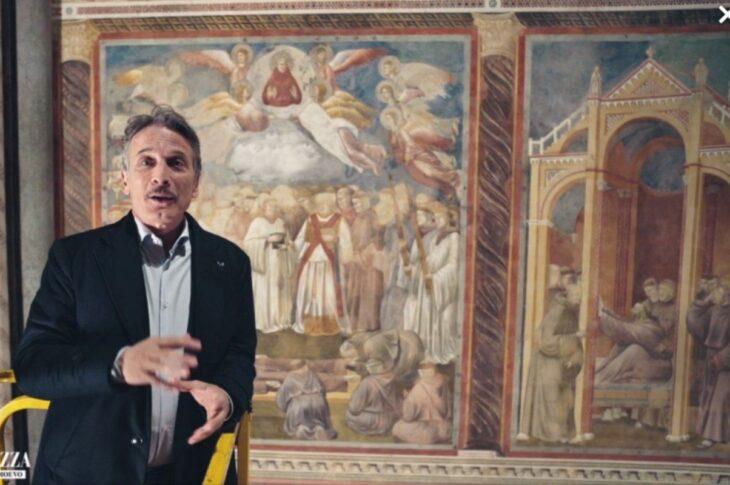 Viaggio nella grande bellezza con Cesare Bocci come guida